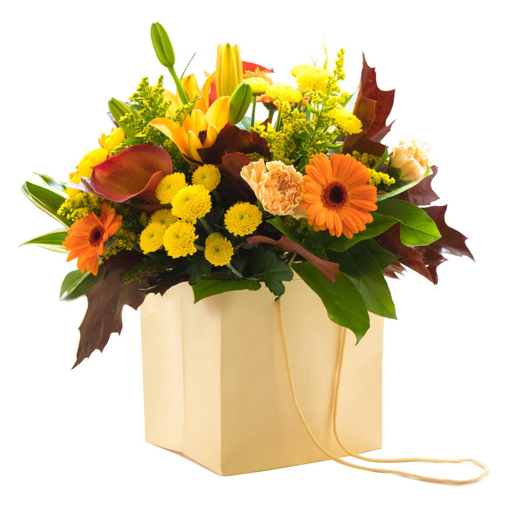 The fall bouquet beauty of flowers the fall bouquet izmirmasajfo Choice Image