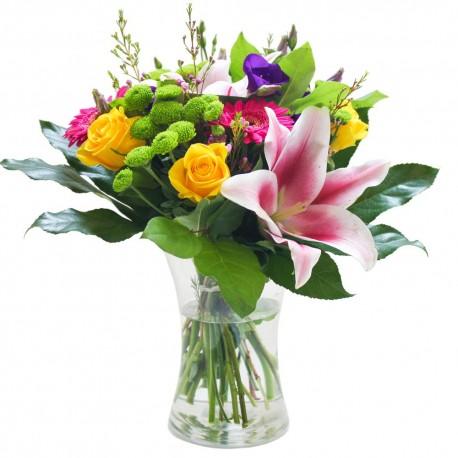A Bright Summer Vase