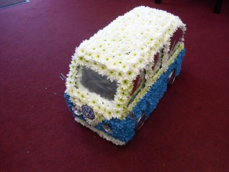 3D VW Camper Van