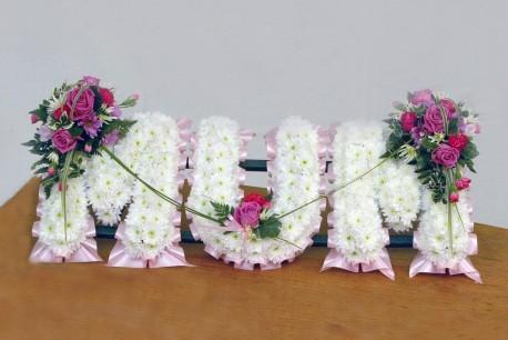 Based Flower Letters