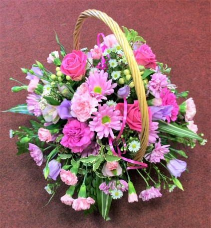 Pink Joy Basket