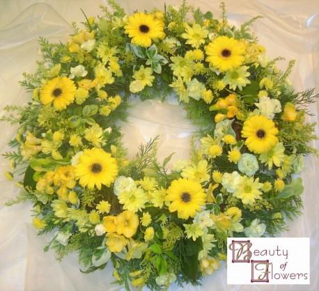 Yellow Wreath S115
