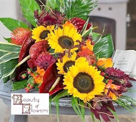 Autumn Cut Flower Sheaf S016