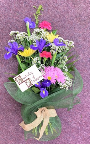 Seasonal Florists Choice Cut Flower Sheaf