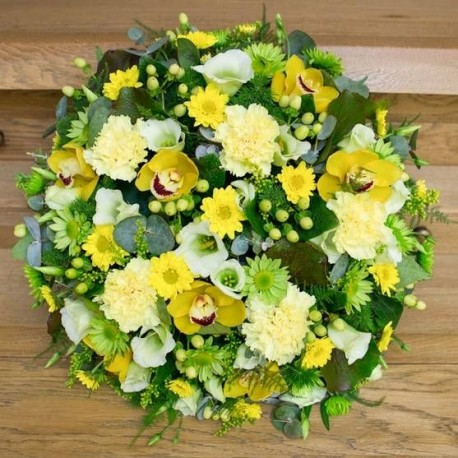 Yellow and Green Posy Pad