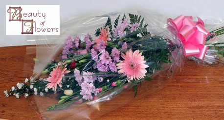 Mixed Cut Flower Sheaf S015
