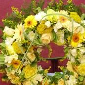 Yellow Open Wreath