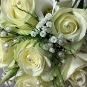 Wedding Rose Hand tied