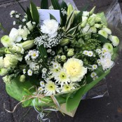 White Aqua Bouquet