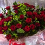 50 Red Roses - LUXURY DESIGN