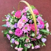 Pink Joy Basket