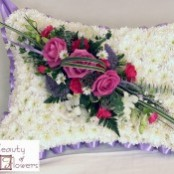 Pink and Lilac Based Pillow S065