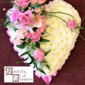 Pink Based Heart S088