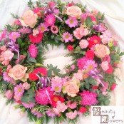 Pink Wreath S053
