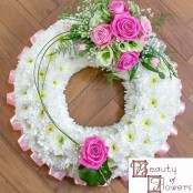 Pink Based Wreath S041