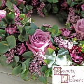 Lilac and Grey Wreath