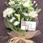Mixed White Cut Flower Sheaf