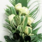 White Rose Natural Tied Sheaf